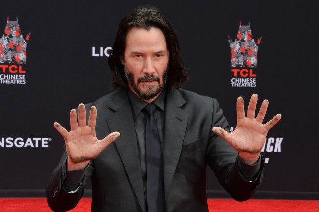 Keanu Reeves voices Duke Caboom, a stuntman toy, in Toy Story 4. File Photo by Jim Ruymen/UPI