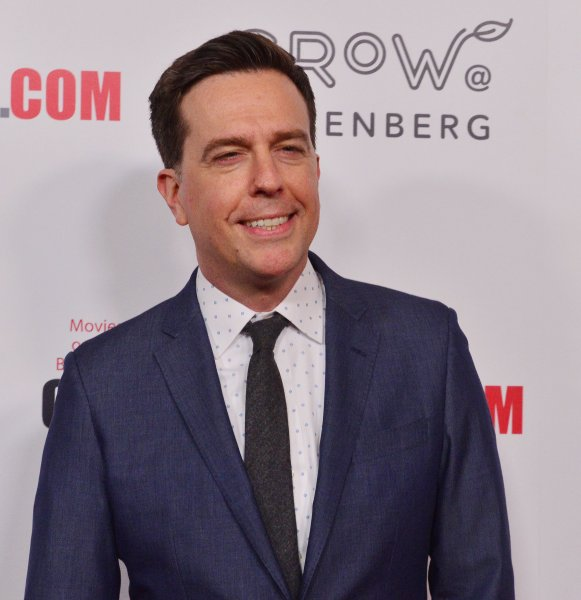 Ed Helms is set to host the NBC comedy series True Story. File Photo by Jim Ruymen/UPI