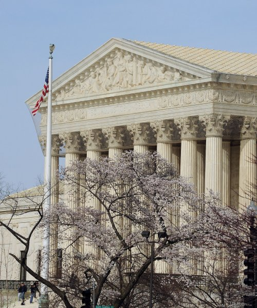 The Supreme Court ruled Thursday in favor of a Catholic adoption agency in Philadelphia that refuses to certify same-sex couples. UPI/Roger L. Wollenberg