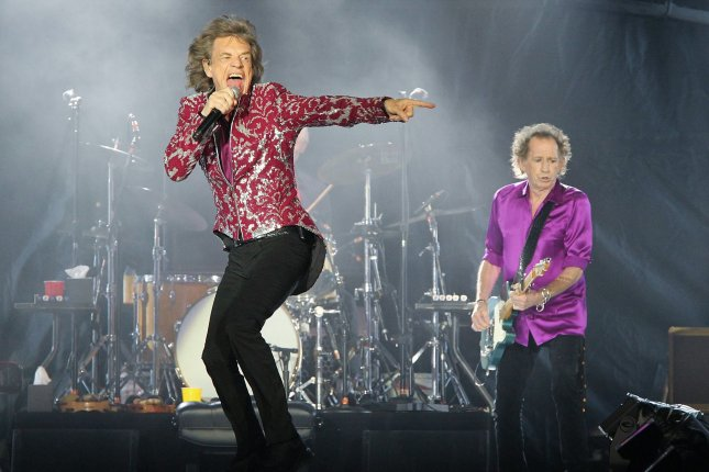 The Rolling Stones announced rescheduled dates for the U.S. leg of their No Filter tour. File Photo by Dave Allocca/UPI