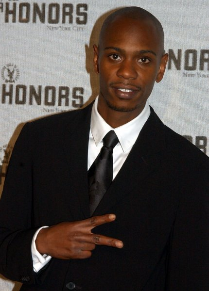 Comedian Dave Chappelle served as master of ceremonies at the 5th Annual Directors Guild of America honors on Sept. 29, 2004 in New York. (UPI Photo/Ezio Petersen)