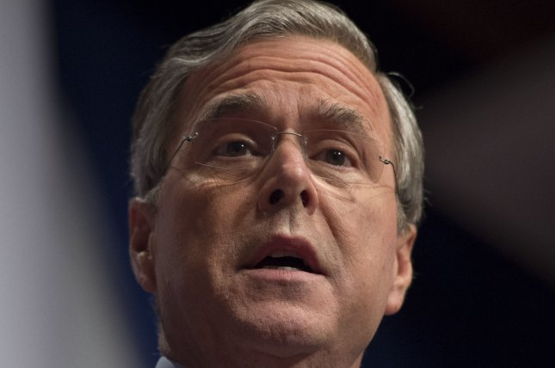 Former Florida Gov. Jeb Bush is having a bad week. Photo by Molly Riley/UPI