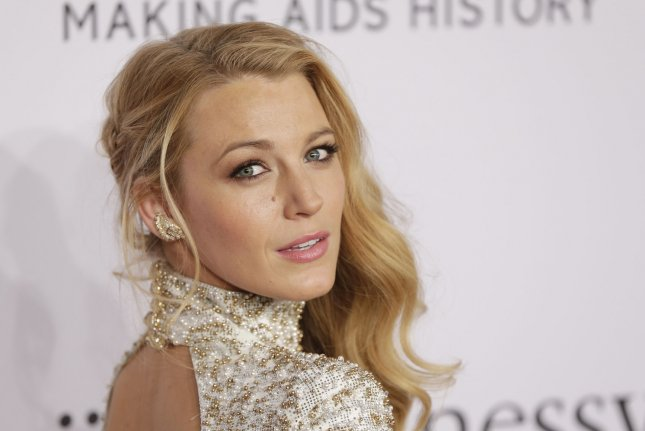 Blake Lively arrives on the red carpet for the 2016 amfAR New York Gala on February 10, 2016. The actress is seen attempting to survive a deadly shark in the second trailer for The Shallows. File Photo by John Angelillo/UPI
