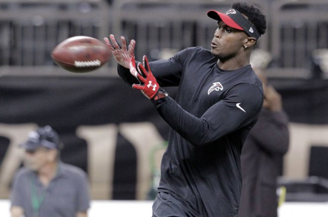 Julio Jones misses Falcons practice due to lingering foot injury