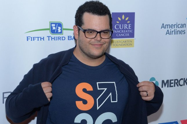 Josh Gad attends the Stand Up To Cancer fundraiser in Los Angeles on September 9. Gad surprised fans at multiple screenings of Beauty and the Beast in New York City this week. File Photo by Jim Ruymen/UPI