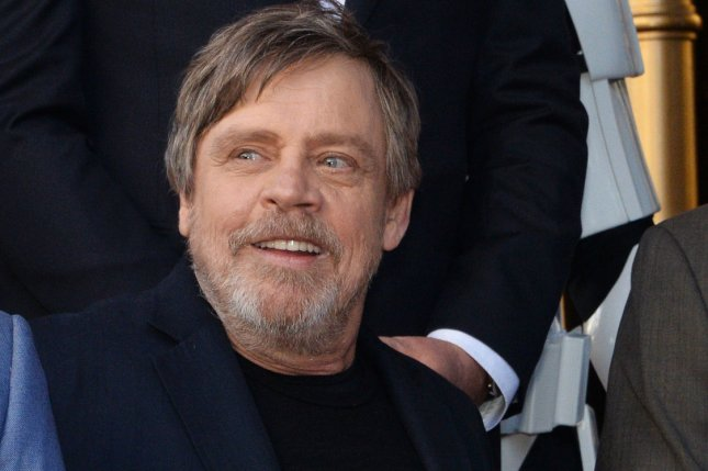 Mark Hamill, known for playing Luke Skywalker in the Star Wars films, will guest star in the Big Bang Theory Season 11 finale. File Photo by Jim Ruymen/UPI