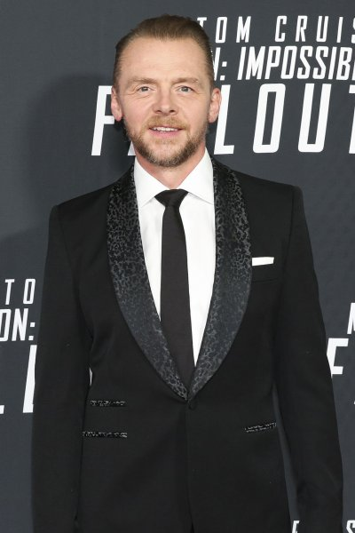 Simon Pegg attends the Mission: Impossible - Fallout premiere at the Smithsonian's National Air and Space Museum on July 22, 2018, in Washington, DC. The actor turns 50 on February 14. File Photo by Oliver Contreras/UPI