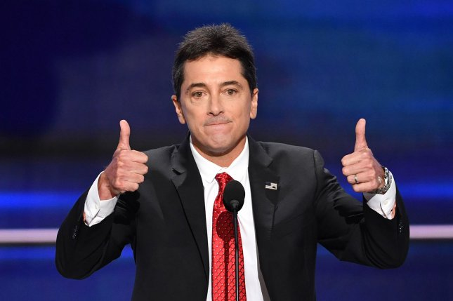 Scott Baio speaks at the Republican National Convention at Quicken Loans Arena in Cleveland on July 18, 2016. The actor turns 60 on September 22. File Photo by Kevin Dietsch/UPI