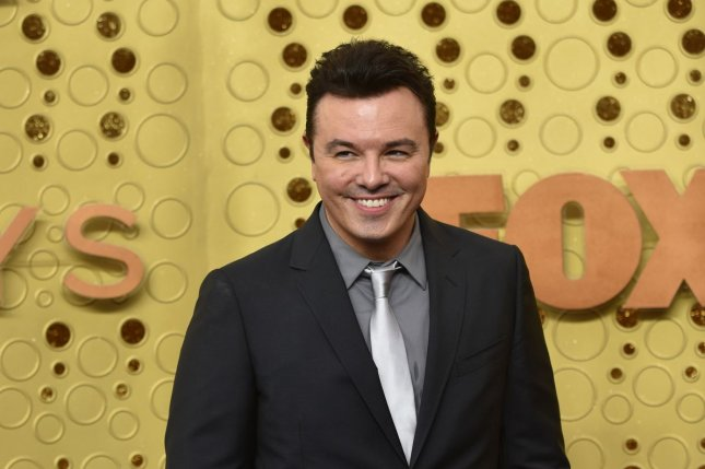 Seth MacFarlane is bringing his movie Ted to Peacock. File Photo by Christine Chew/UPI