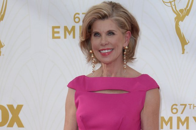 The Good Wife star Christine Baranski arrives at the 67th Primetime Emmy Awards in the Microsoft Theater in Los Angeles on September 20, 2015. File Photo by Jim Ruymen/UPI