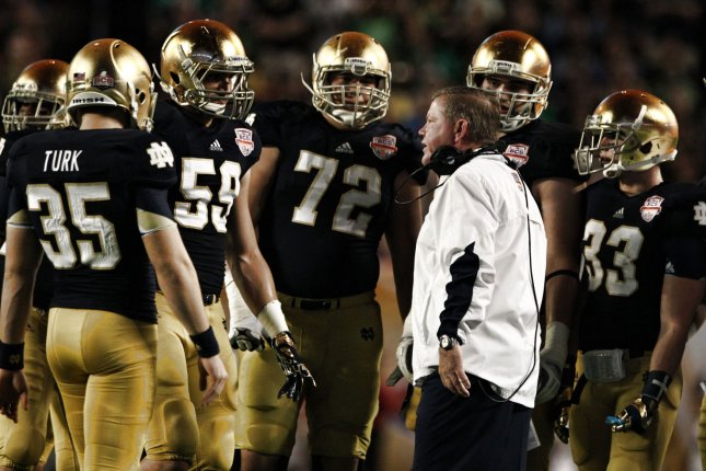 college football notre dame college football opener