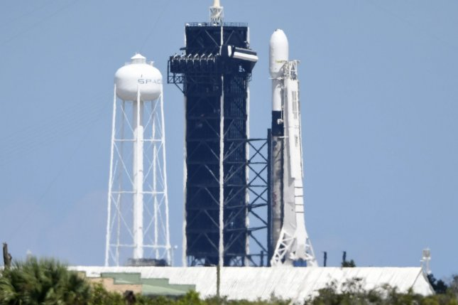 SpaceX plans to launch 60 more Starlink satellites from Florida on Sunday morning aboard a Falcon 9 rocket like this one shown at the same launch pad in September. File Photo by Joe Marino/UPI