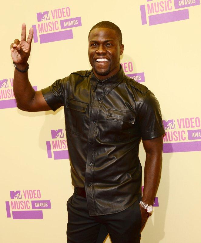 Host Kevin Hart arrives for the MTV Video Music Awards at Staples Center in Los Angeles on September 6, 2012. UPI/Jim Ruymen