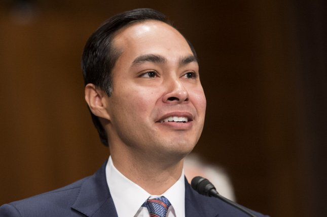 Julian Castro, President Obama's nominee to be the next Secretary of Housing and Urban Development, testifies during his confirmation hearing before the Senate Banking, Housing and Urban Affairs Committee, on Capitol Hill in Washington, D.C. on June 17, 2014. UPI/Kevin Dietsch