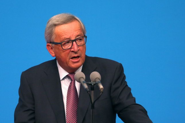 Set against the collapse of ambition in the United States, European Union President Jean-Claude Juncker says it will be Europe that takes the lead in the effort to fight climate change. Photo by Stephen Shaver/UPI