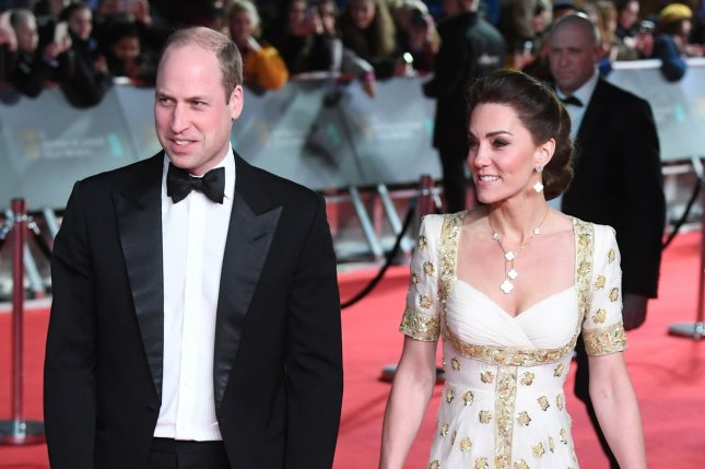 Prince William (L) and Kate Middleton shared romantic new photos on their 10th wedding anniversary. File Photo by Rune Hellestad/UPI