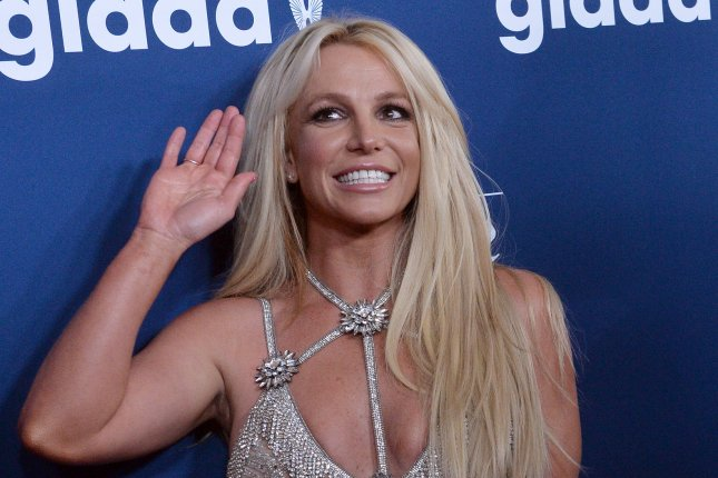 Britney Spears shared a sweet moment with Sam Asghari during a beach day. File Photo by Jim Ruymen/UPI