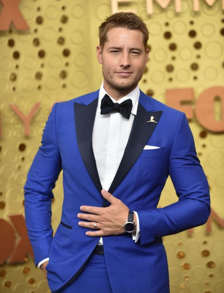Justin Hartley and his wife Chrishell Stause are splitting up. File Photo by Christine Chew/UPI