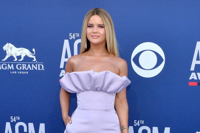 Maren Morris has received a leading six Academy of Country Music Award nominations, along with Chris Stapleton. File Photo by Jim Ruymen/UPI