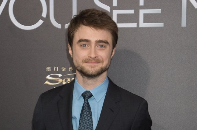 Daniel Radcliffe arrives at the Now You See Me 2 world premiere on June 6, 2016 in New York City. The actor will soon star in the TBS comedy Miracle Workers. File Photo by Bryan R. Smith/UPI