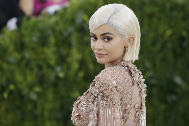 Kylie Jenner responded on Twitter after fans criticized the price of her Kylie Cosmetics Silver Series brushes. File Photo by John Angelillo/UPI