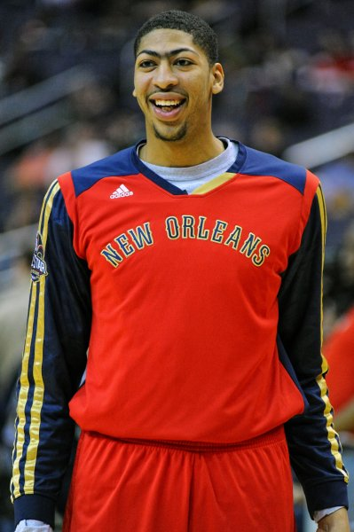 Anthony Davis and the New Orleans Pelicans pay a visit to the Boston Celtics on Tuesday. File photo by Mark Goldman/UPI