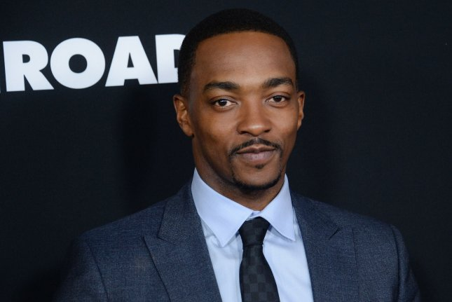 Anthony Mackie will star alongside David Harbour, Tig Notaro, Jennifer Coolidge and more in We Have a Ghost. File Photo by Jim Ruymen/UPI