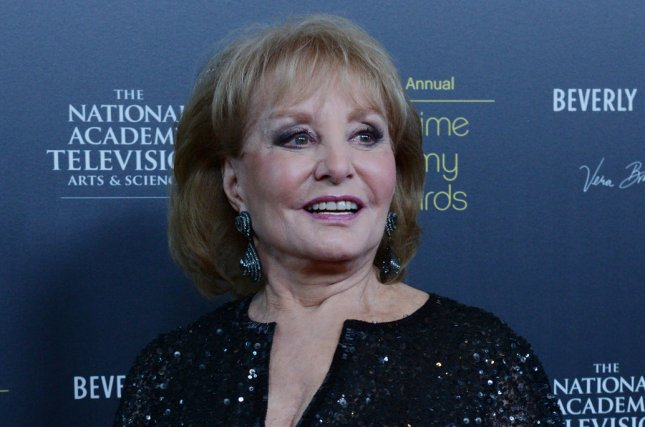 Barbara Walters appears backstage at the 39th annual Daytime Emmy Awards in Beverly Hills, California on June 23, 2012. (File/UPI/Jim Ruymen)