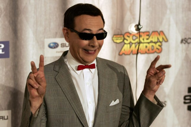 Actor Paul Reubens, aka Pee-wee Herman, arrives for Spike TV's Scream Awards at Universal Studios in Los Angeles in 2011. File Photo by Jonathan Alcorn/UPI