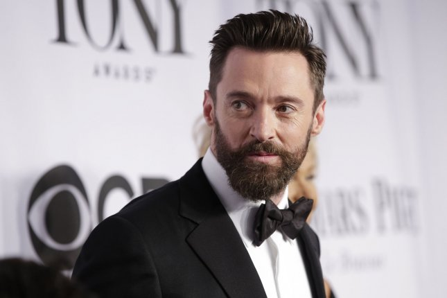 Hugh Jackman arrives on the red carpet at the 68th Tony Awards at Radio City Music Hall in New York City on June 8, 2014. File Photo by UPI/John Angelillo.