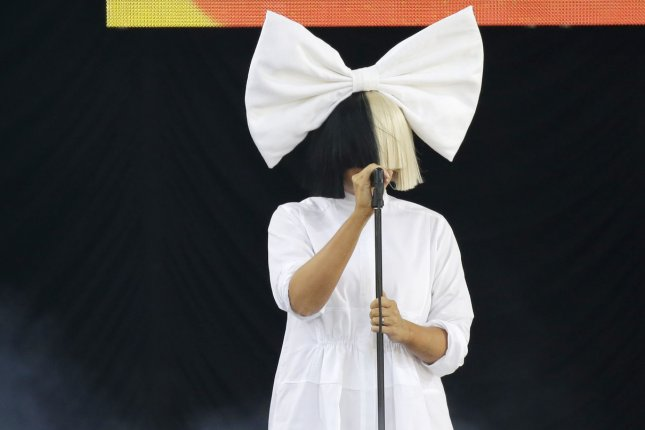 Sia performs Good Morning America at the Rumsey Playfield/SummerStage in Central Park in New York City on July 22, 2016. Sia released a music video for her new song The Greatest. File Photo by John Angelillo/UPI
