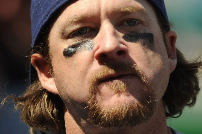 Gregg Zaun spent five seasons as a player with the Toronto Blue Jays. File photo by Kevin Dietsch/UPI