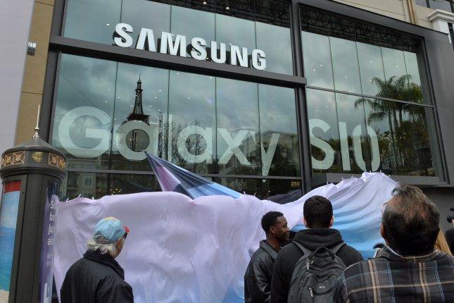 Samsung Electronics, the world's largest memory chip maker, is turning to domestic producers of chemicals for manufacturing processes. File Photo by Jim Ruymen/UPI