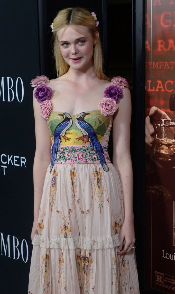 Cast member Elle Fanning attends the premiere of the motion picture biographical drama Trumbo at the Academy of Motion Picture Arts & Sciences on October 27, 2015. The actress stars in The Neon Demon. File Photo by Jim Ruymen/UPI