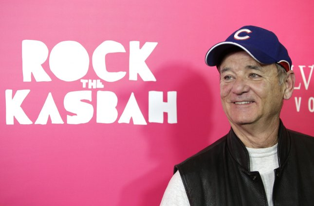 Bill Murray arrives on the red carpet at the New York Premiere of Rock the Kasbah at AMC Loews Lincoln Square in New York City on October 19, 2015. File photo by John Angelillo/UPI