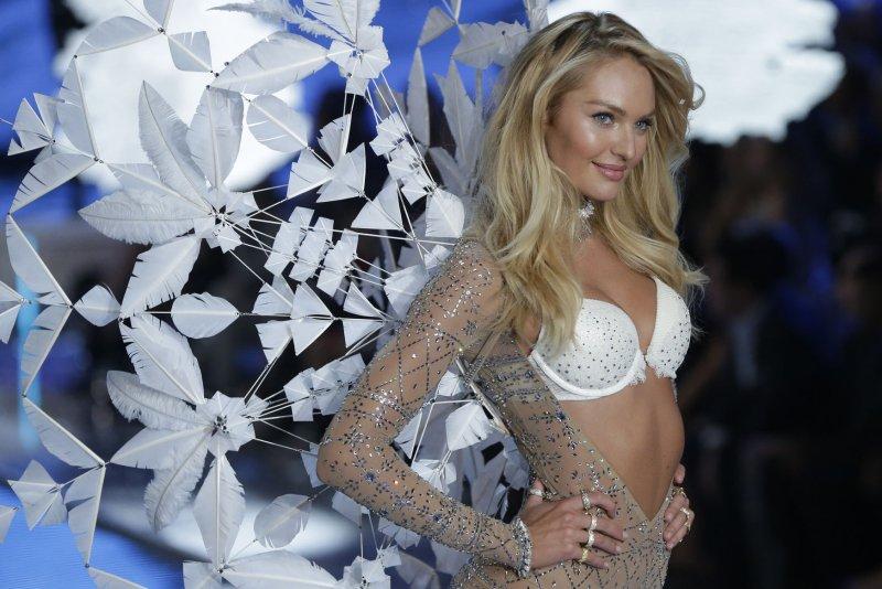 7531baea1b Candice Swanepoel walks the runway in the Victoria s Secret Fashion Show on  November 10