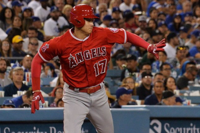 premium selection dfed8 9fbf5 Watch: Angels' Shohei Ohtani hits 429-foot bomb for first ...