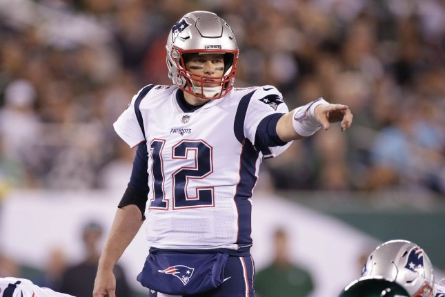 New England Patriots star Tom Brady has worn the No. 12 for all of his 276 appearances during his decorated NFL career. File Photo by John Angelillo/UPI