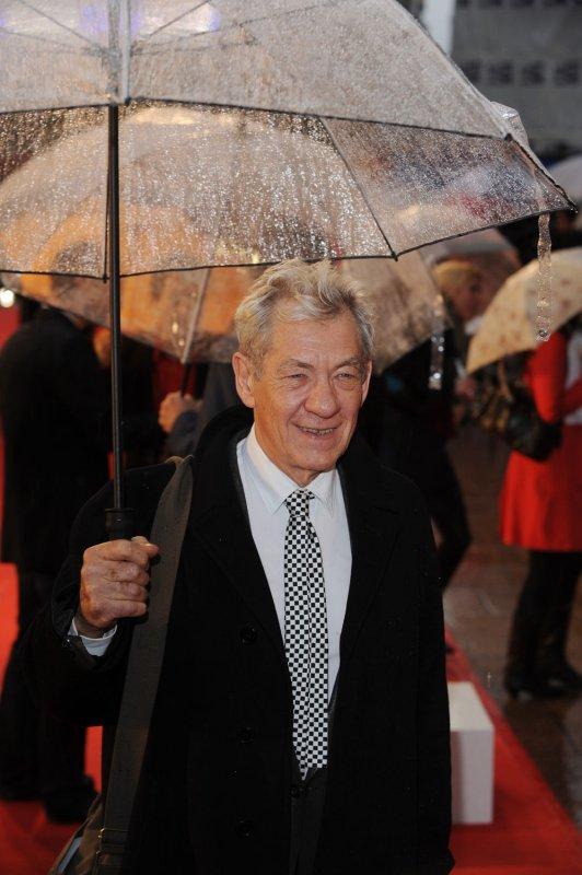 Actor Ian McKellen in London, April 29, 2008. (UPI Photo/Rune Hellestad)