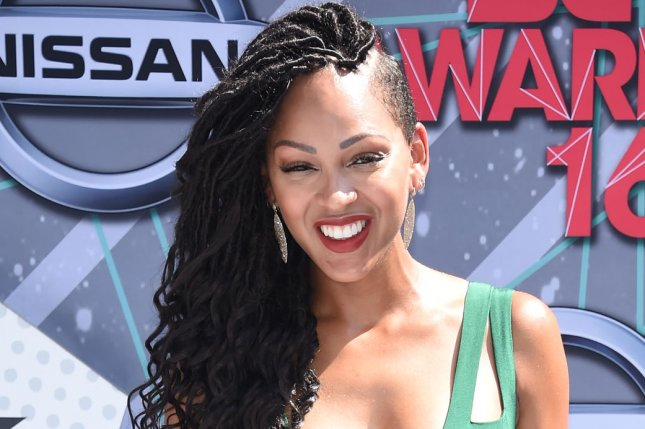 Meagan Good attending the 16th annual BET Awards on June 26. Good wil portray film character Foxy Brown in a new series in the works at Hulu. File Photo by Phil McCarten/UPI