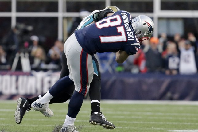 Rob Gronkowski (concussion) misses Patriots' walkthrough on Friday