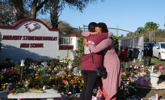 Two survivors of the shooting died this month in apparent suicides, authorities said. File Photo by Gary Rothstein/UPI