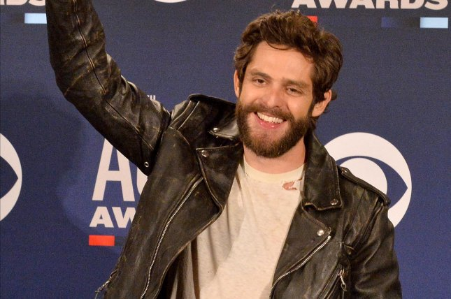 Thomas Rhett will emcee the CMA Fest concert special Aug. 4 on ABC. File Photo by Jim Ruymen/UPI