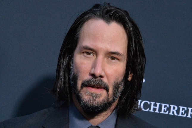John Wick star Keanu Reeves attends a special screening of John Wick: Chapter 3 -- Parabellum in May 2019. Lionsgate has announced a fifth entry in the series. File Photo by Jim Ruymen/UPI