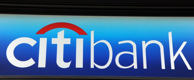 The logo of Citibank appears on an ATM machine in New York on February 24, 2009. (UPI Photo/Ezio Petersen)