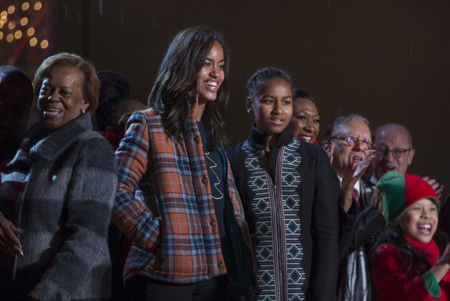 Malia Obama got driving lessons from the Secret Service. File Photo by Jim Lo Scalzo/Pool