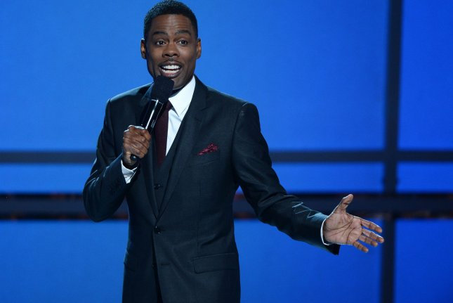 Comedian and actor Chris Rock hosts the 14th annual BET Awards at Nokia Theatre L.A. Live in Los Angeles on June 29, 2014. File Photo by Jim Ruymen/UPI
