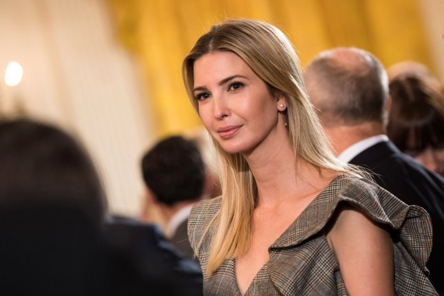 Ivanka Trump attends an event in which President Donald Trump declared the opioid crisis a public health emergency in the East Room at the White House in Washington, D.C., on Thursday. She turns 36 on October 30. Photo by Kevin Dietsch/UPI