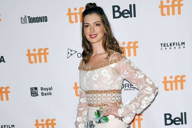 Anne Hathaway is in talks to star in a film adaptation of The Last Thing He Wanted. File Photo by Christine Chew/UPI