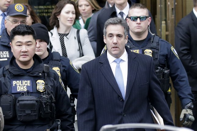 Attorney Michael Cohen was subpoenaed by the Senate intelligence committee Thursday to testify by mid-February. Photo by John Angelillo/UPI